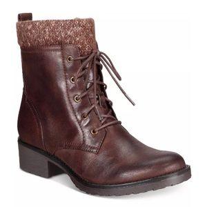 Baretrap Women Onnabeth Snow Boots Brown Microfib